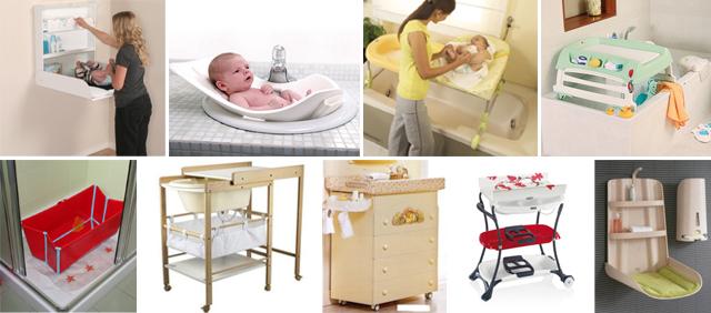 Il bagno per il neonato studiato con cura - Cambio pannolino in bagno ...