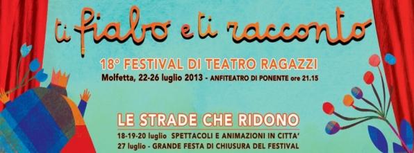 Ti fiabo e Ti racconto Festival Teatro Ragazzi