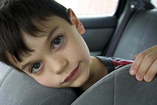 Viaggio auto bambini