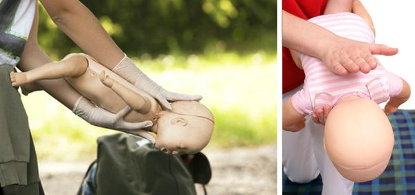 manovra di disostruzione pediatrica sul lattante