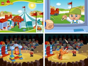 Lego App: Circus