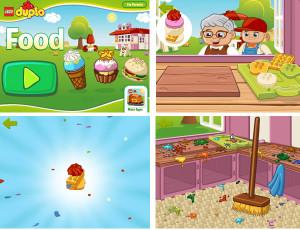 Lego App: Food