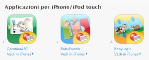 Lisciani Giochi: App iPhone