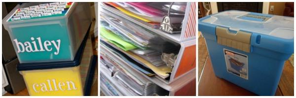 organizzare ricordi scolastici bambini