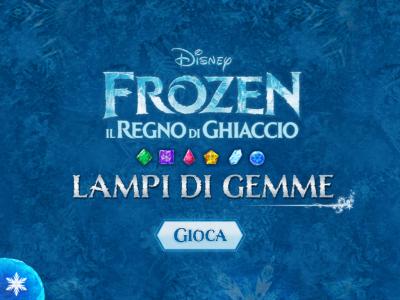 Frozen Lampi di Gemme