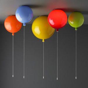 lampadari camerette bimbi : illuminazione camerette lampadario palloncino