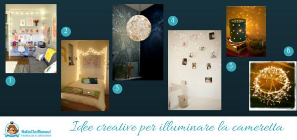 illuminazione cameretta idee creative