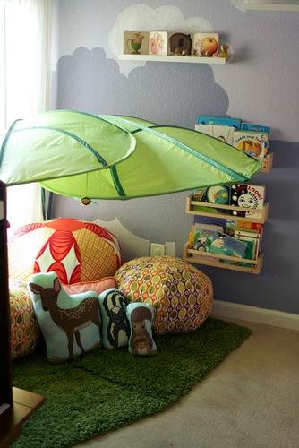 Angolo lettura foglia Ikea