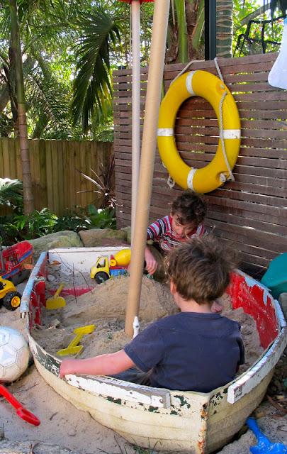 barca sabbiera gioco bambini