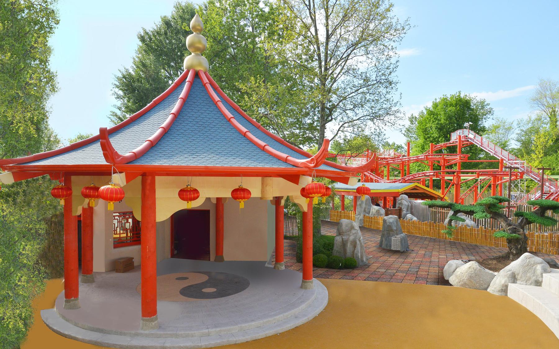Gardaland_Kung Fu Panda Academy_new ride 2016