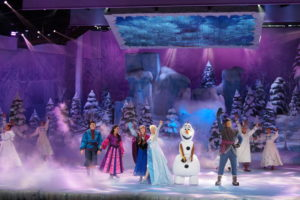 Frozen a Disneyland Paris
