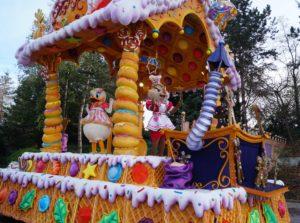 Parata natalizia a Disneyland Paris