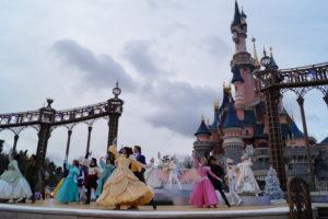 Spettacolo principesse a Disneyland Paris