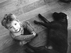 Abituare il cane all'arrivo di un neonato