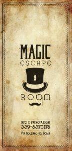 escape room roma