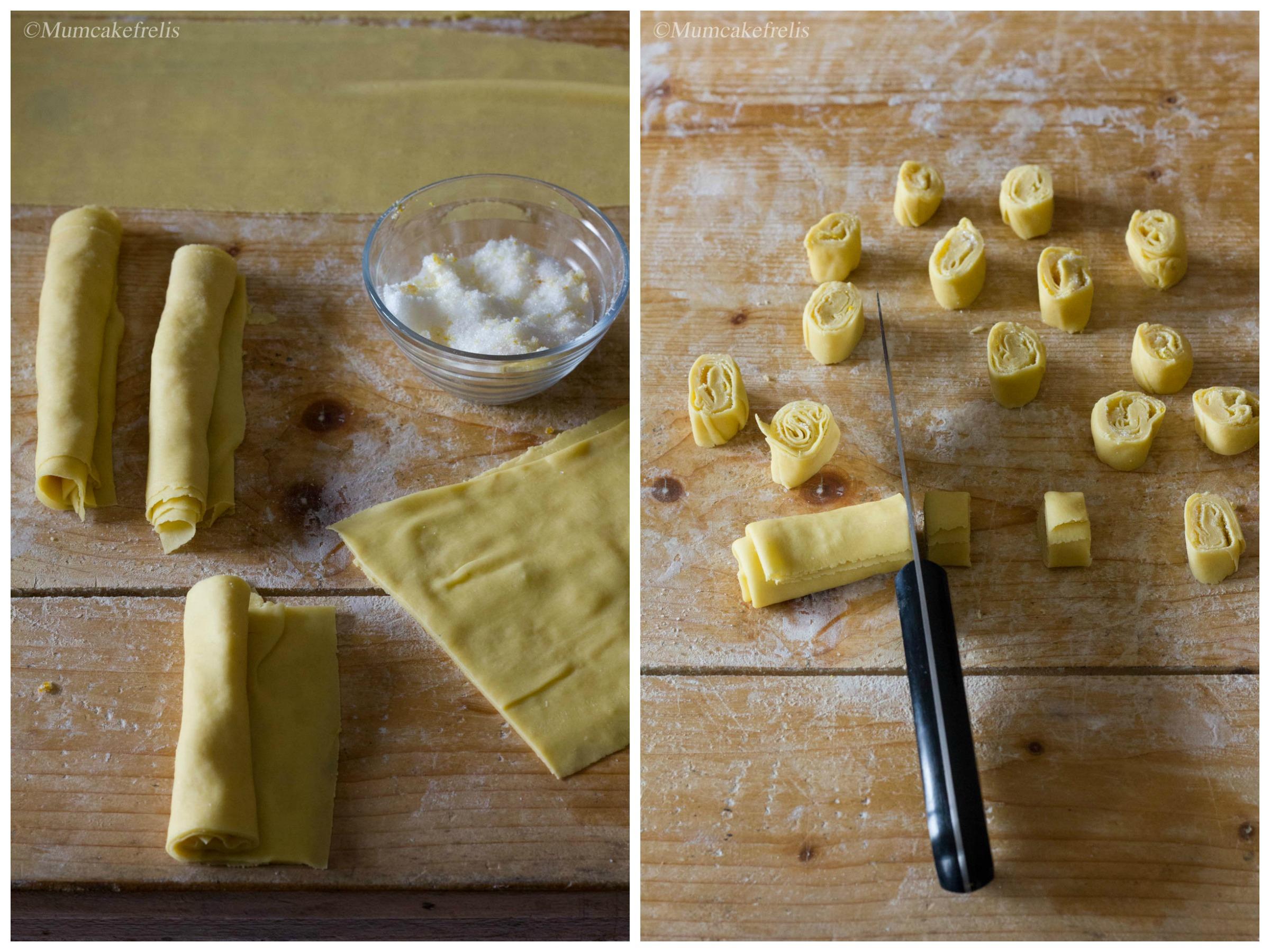 ricetta tagliatelle fritte al limone